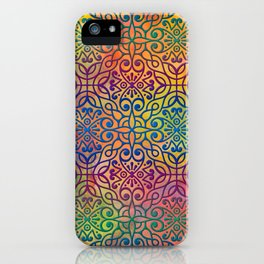 DP050-1 Colorful Moroccan pattern iPhone Case