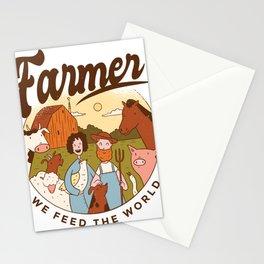 Bauer we nourish the world award Stationery Cards
