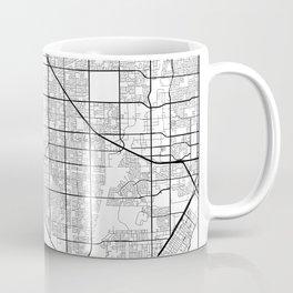 Minimal City Maps - Map Of Huntington Beach, California, United States Coffee Mug