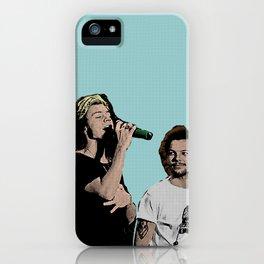 Pop Art Larry Stylinson  iPhone Case