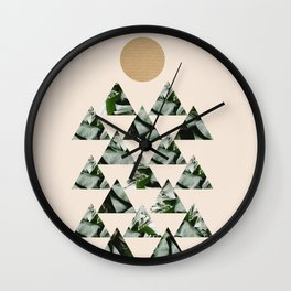 Tropical & Geometry II Wall Clock