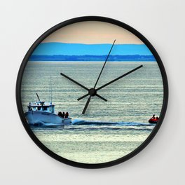 Fun with a Lobster Boat Wall Clock