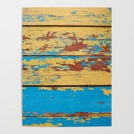 Wooden deck. Poster