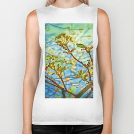 Budding Branches Biker Tank