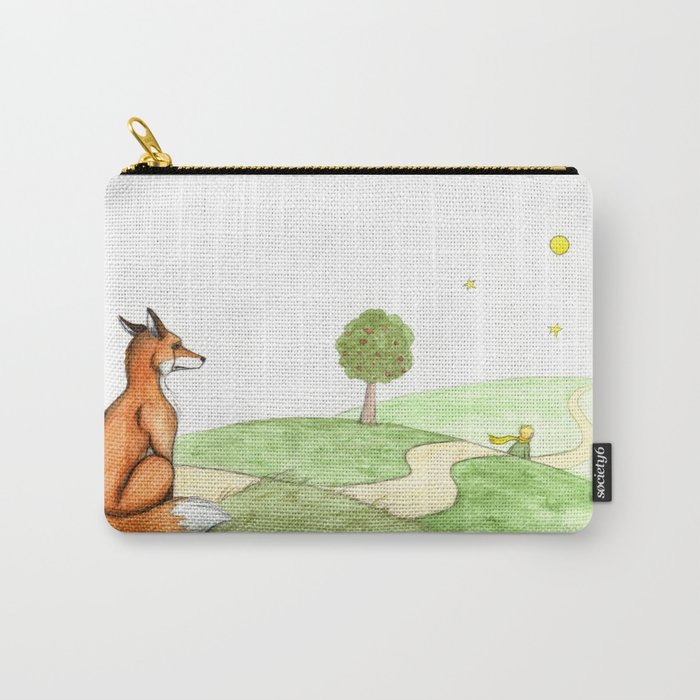 ac16b76ccaa3 The little Prince and the Fox Carry-All Pouch