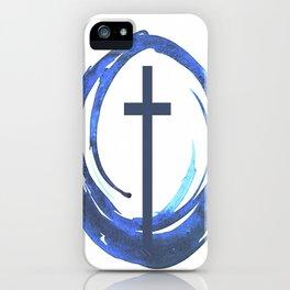 Circle Of Life - Cross iPhone Case
