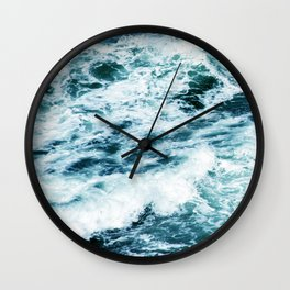 Through the Valley of the Shadow of Death Wall Clock