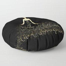 Scarlett's Enchanted Dress. Caraval Floor Pillow
