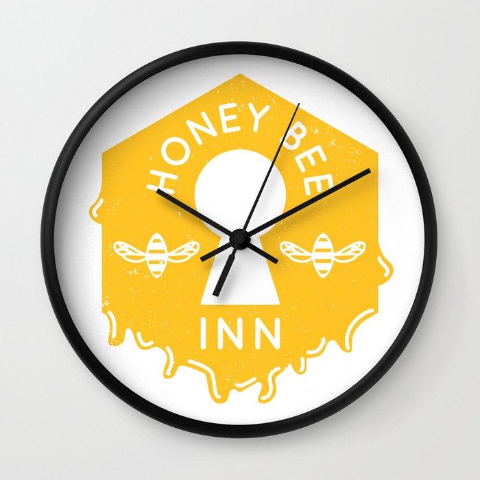 Honeybee Inn (Final Fantasy VII) Wall Clock by pxpassport | Society6