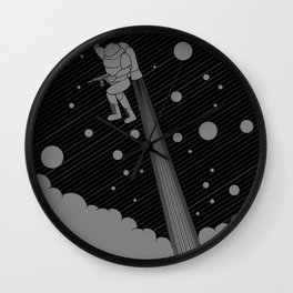 Mission: Shooting Star Wall Clock