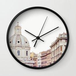 Simply Rome - Italy Travel Photography Wall Clock
