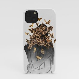 The butterflies of love. iPhone Case