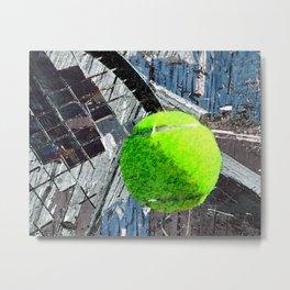 Tennis art print work 13 Metal Print