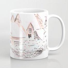 Snowy Village Coffee Mug