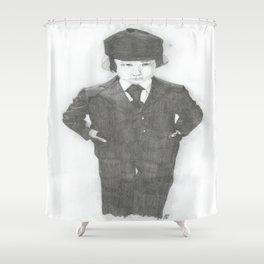 Damien. Shower Curtain