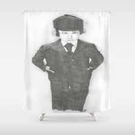 Damien. Shower Curtain