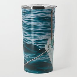 BOAT - WATER - SEA - PHOTOGRAPHY Travel Mug