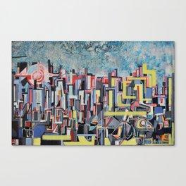 """""""metropolis Canvas Print"""