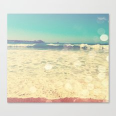 Summertime at the Beach Canvas Print