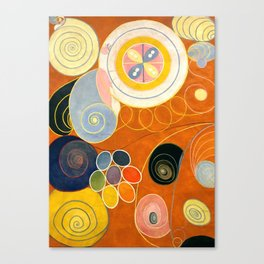 """Hilma af Klint """"The Ten Largest, No. 03, Youth, Group IV"""" Canvas Print"""