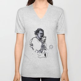 russ gershon of the either orchestra Unisex V-Neck