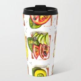 go vegan! Travel Mug