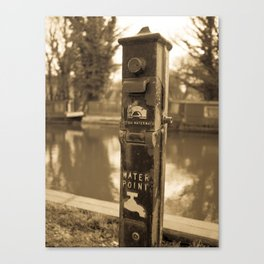 Water Point Canvas Print