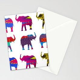 Funk Elephants Stationery Cards