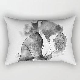 Introduce me to your universe. Rectangular Pillow