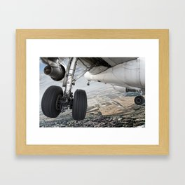 Visual approach Framed Art Print
