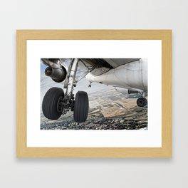 Visual approach Framed Art Print