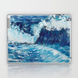 Crest of a Wave Laptop & iPad Skin