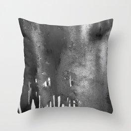 Bleach B&W Throw Pillow