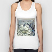 "haunted mansion Tank Tops featuring Disneyland Haunted Mansion inspired ""Old FlyBait""  by ArtisticAtrocities"