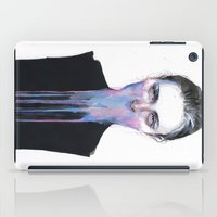 mouth iPad Cases featuring my opinion about you by agnes-cecile