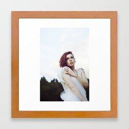 Fallen Angel Cait 2 Framed Art Print