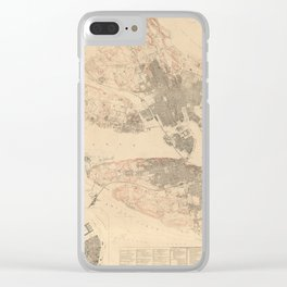 Stockholm 1780 Clear iPhone Case