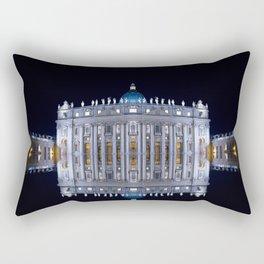 Vatican City Reflexion Rectangular Pillow