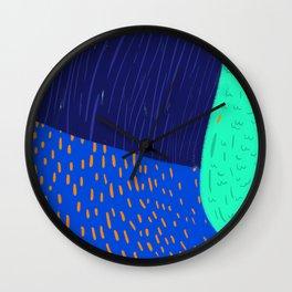 A bird very close Wall Clock