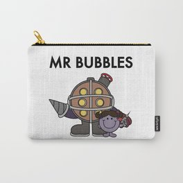 Mr Bubbles Carry-All Pouch