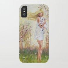 Field of Peace iPhone X Slim Case