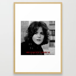 When You Grow Up, Your Heart Dies Framed Art Print