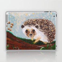 Hedgehog and Mushrooms Laptop & iPad Skin