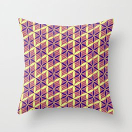 Flower of Life Pattern 15 Throw Pillow