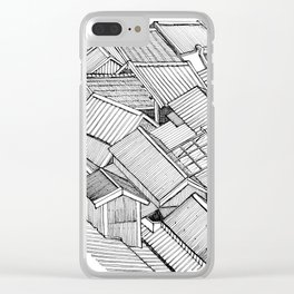 Roof Garden Clear iPhone Case