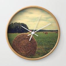 Summer Field of Dreams Wall Clock