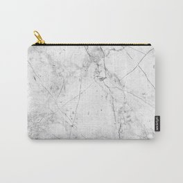Nordic White Marble Carry-All Pouch