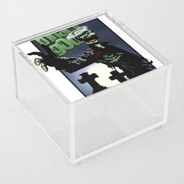 binarygod Zombie poster Acrylic Box