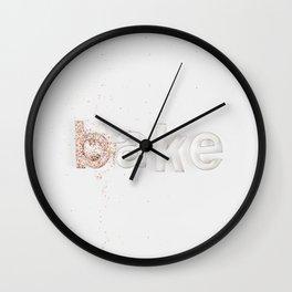 Bake! Wall Clock