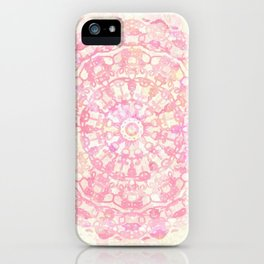 Mediterranean Manadala iPhone Case
